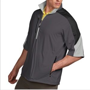 Antigua Jackets & Coats - Men's Antigua short sleeve wind breaker